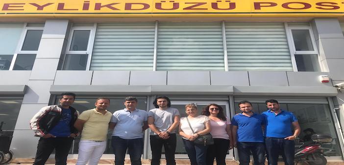 ÖZEL   PTT A.Ş. Beylikdüzü Posta Dağıtım Merkezi'nde çalışan 9 işçi işten çıkarıldı