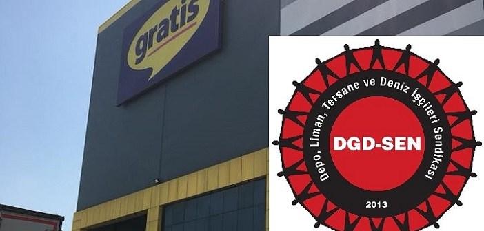 Gratis Depo'da DGD-SEN'e üye olduğu içinişten çıkarılan işçi sendikal tazminat davasını kazandı