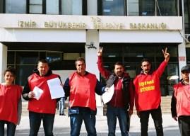 Konak Direnişi'nde DİSK Genel-İş Sendikası sözünde durmadı, işçiler direnişe devam edecek