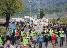 Murgul maden işçilerine atılan iftiraya karşı platformdan açıklama