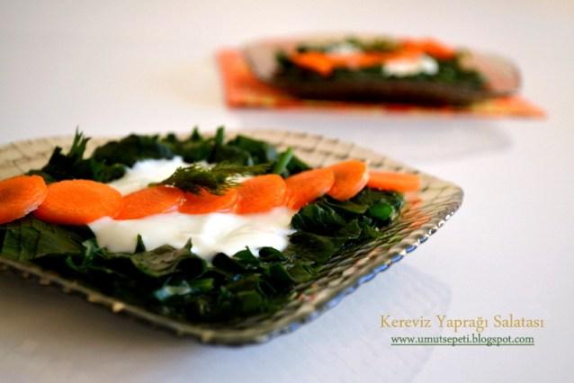 Kereviz Yaprağı Salatası