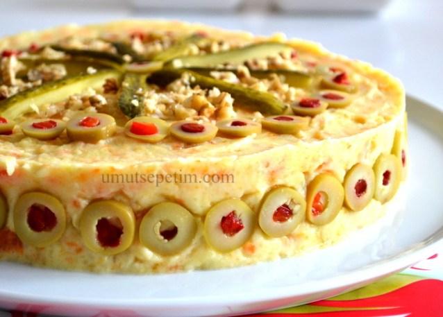 Havuçlu Cevizli Patates Salatası Tarifi ;)