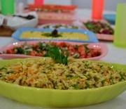 Rengarenk Sofra ve Rengarenk Salatalar ;)