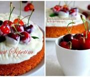 Tarçınlı,Kirazlı Kolay Kek Tarifi
