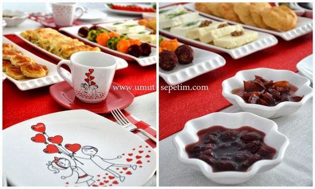 Kusursuz Aşk'lı Kahvaltı Sofrası :)