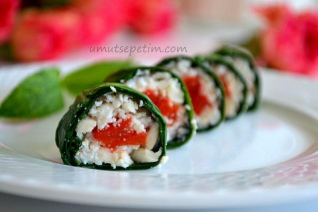 Yalancı Sushi Tarifi