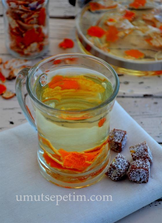 Mandalina  Çayı  Tarifi