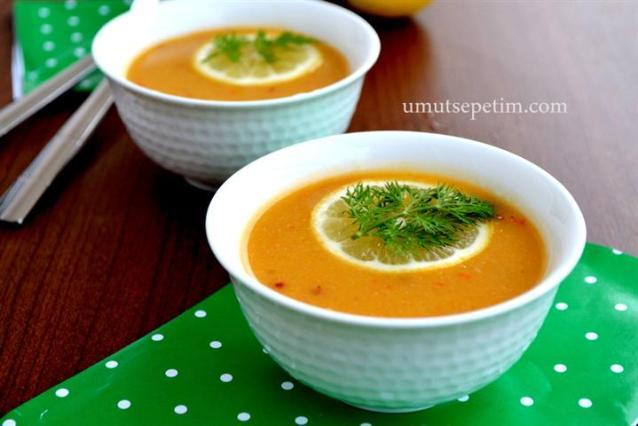 Sebzeli Mercimek  Çorbası Tarifi