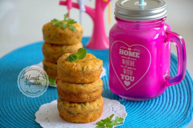 Patatesli Kek    Tarifi (Patatesli  Muffin  tarifi )