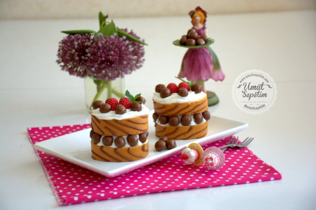 Porsiyonluk  Dankek  Pasta  Tarifi