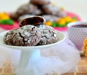 Çikolatalı  Çatlak  Kurabiye  ( Videolu  Tarif )