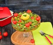 Zeytinyağlı  Taze  Fasulye  Salatası