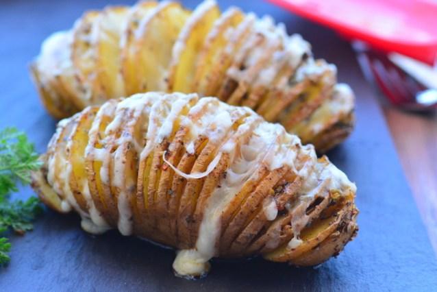 Fırında  Yelpaze Patates Tarifi