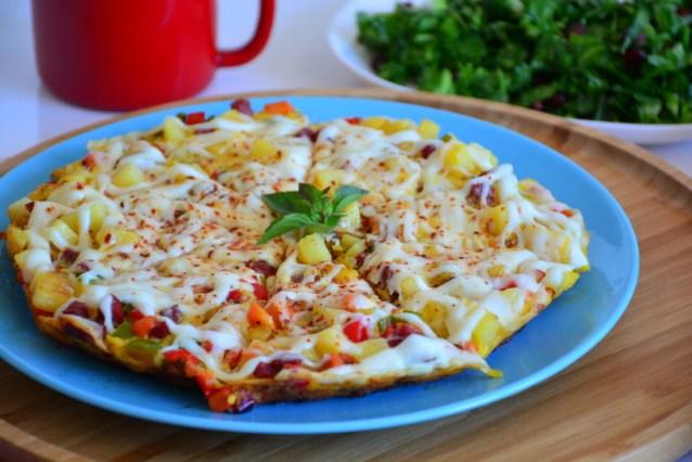 Kahvaltılık Tava Patates Tarifi