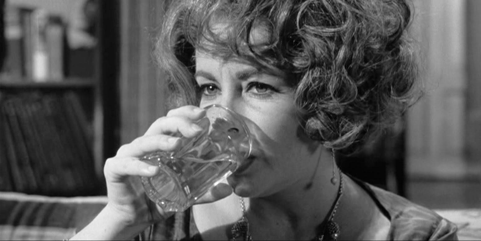 A film still of Elizabeth Taylor in Who's Afraid of Virginia Woolf