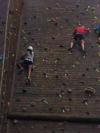 Rock climbing with my best friend (submitted by Joanne Angbazo)