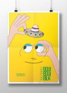 Folder für BBB, Düsseldorf, Brille, Hut, Hände