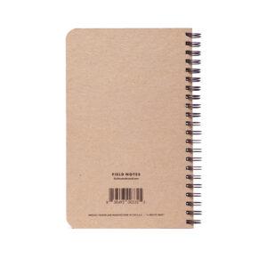 Field Notes, 56week Planner, backside, Rückseite,