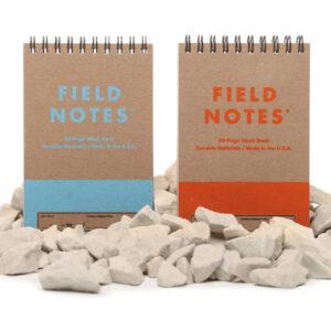 Field Notes, heavy duty, zwei stabile Blöcke, Spiralbindung