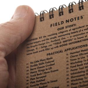 Field Notes, Heavy Duty, Schreibblock, Innenseite