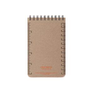 Field Notes, Heavy Duty, Schreibblock, Rückseite, mit Skala
