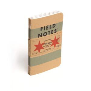 Field Notes, Chicago, Notizhefte, 3er-Set, kariert,