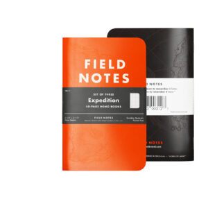 Field Notes, Expediton Edition, Notizheft, unzerstörbar, orange