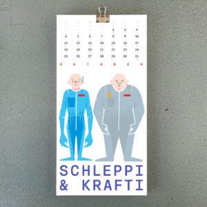 Umwerk Wandkalender 2021 Oktober