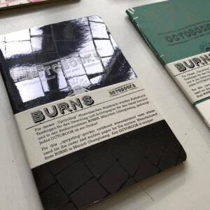 Octobooks, Detail, Unikate, Notizhefte, Siebdruck-Cover,