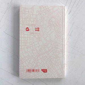 Urban Gridded Notebook, Vienna, Rückseite, Notizbuch mit Stadtplänen der Welt,