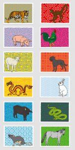 UMWERK - Tierkreiszeichen Postkarten