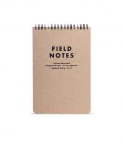 Field Notes, Steno, Block, Spiraldrahtbindung, liniert,