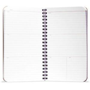 Lineatur innen, 56-Week Planner, Field Notes, offen,