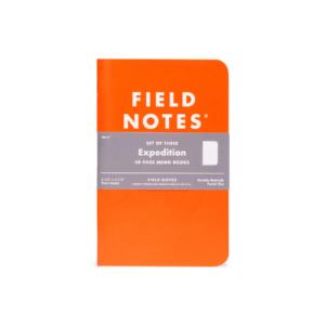 Field Notes Expedition Edition, orange, Notizhefte,