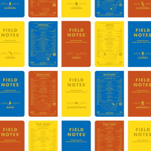 Muster aus Field Notes Titelblättern, County Fair Editions,