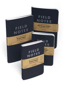 Pitch Black, Field Notes, Notizhefte, tiefschwarz,