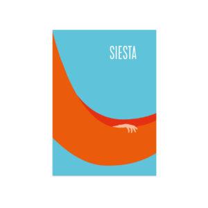 UMWERK - Postkarte SIESTA