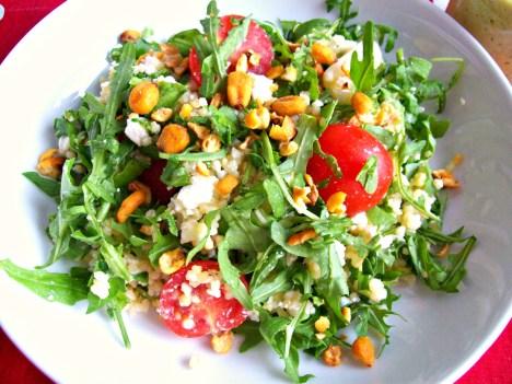 salade stetson roquette pesto