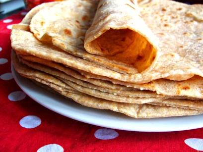 tortilla ou wrap au blé