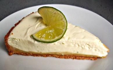 Tarte au fromage frais et citron vert