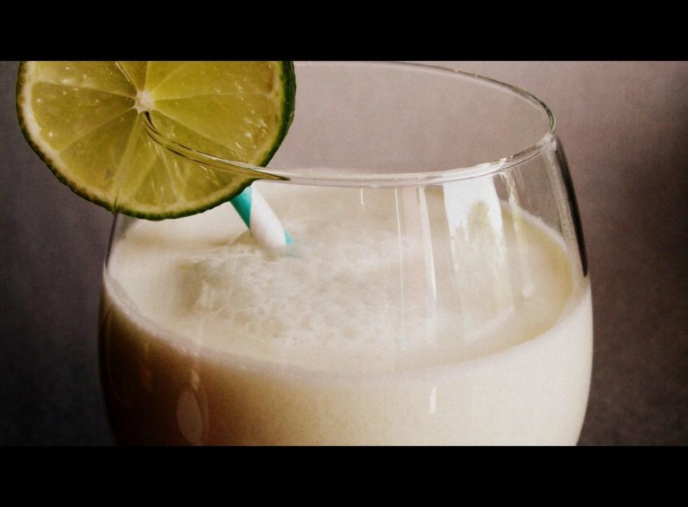 Cocktail citron vert & coco