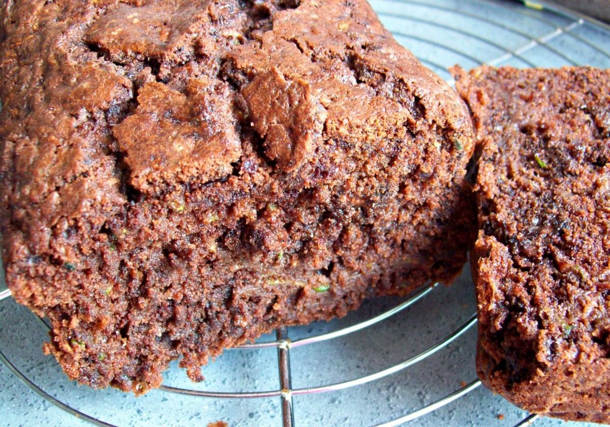 Gâteau double chocolat à la courgette