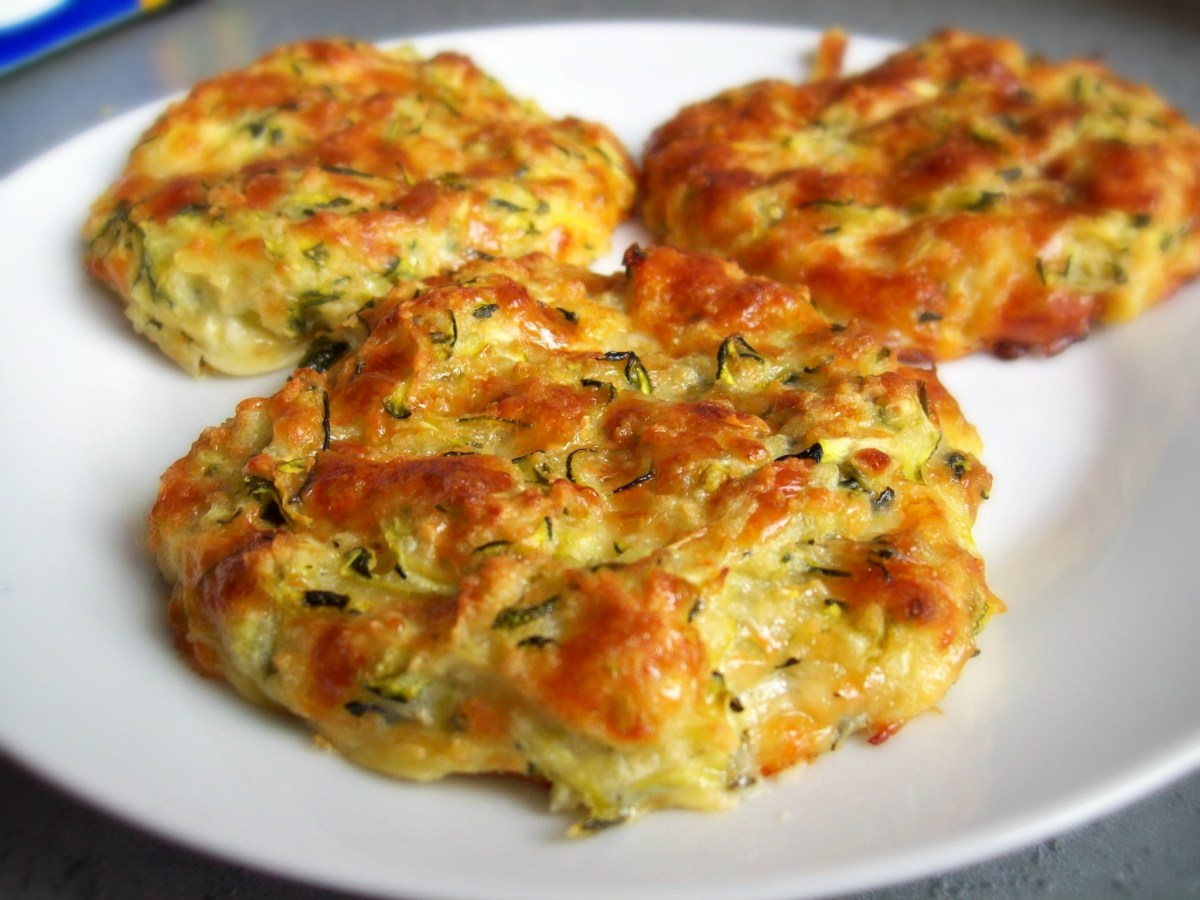 Galettes moelleuses de courgettes et mozzarella
