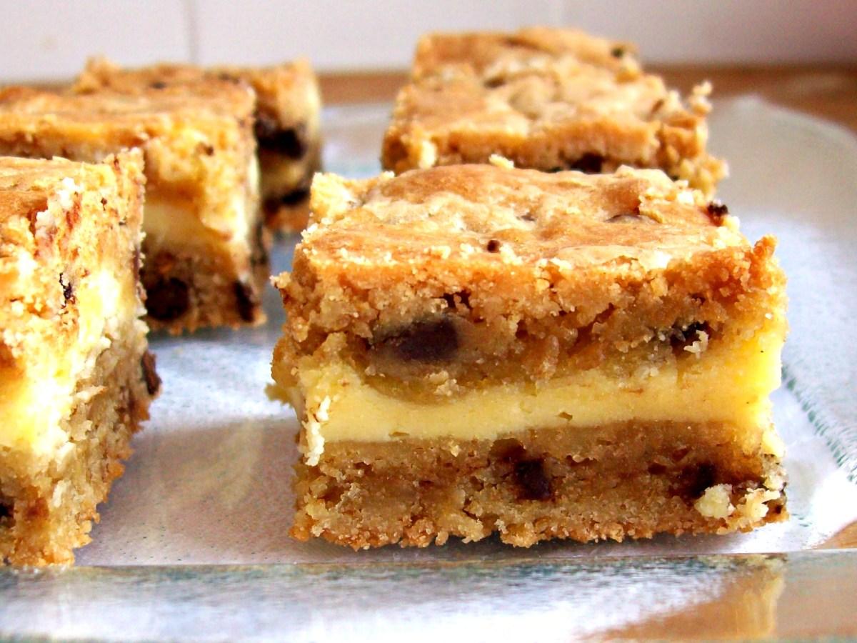 Biscuits aux pépites de chocolat fourrés au fromage