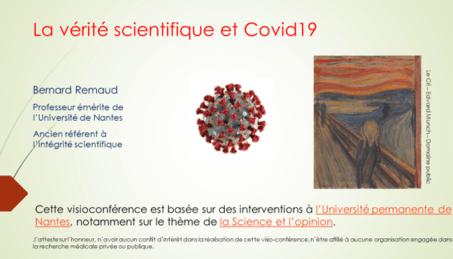 Première vue de la conférence sur Covid-19 et Opinion