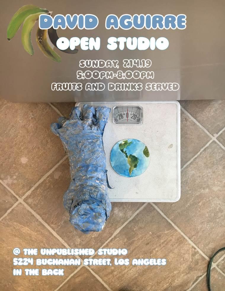 David Open Studio Invite