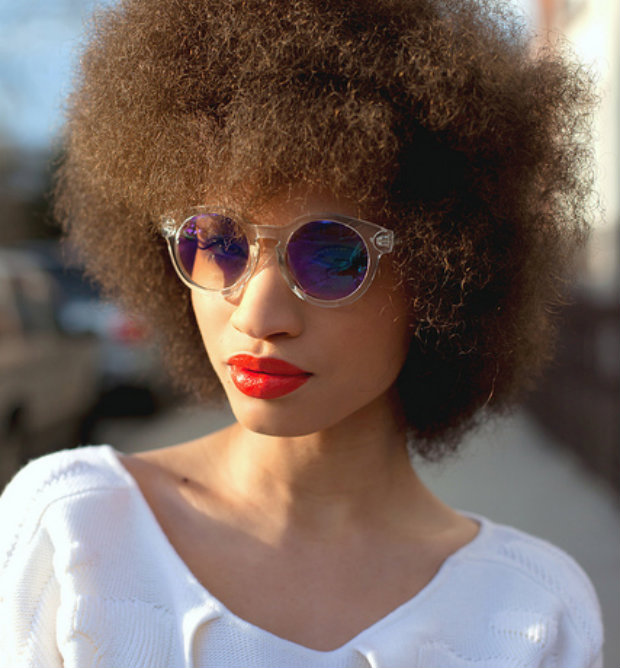 Picked Out Afro Bangs Un Ruly