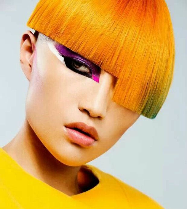 short_hair_rainbow_bowl_cut_asymmetrical