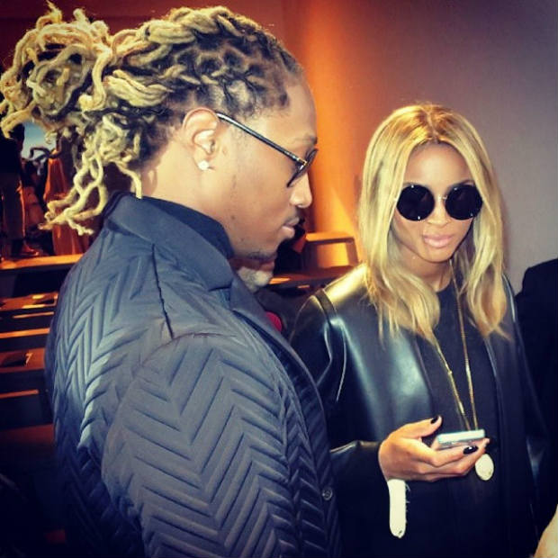 Ciara's boo Future and his blond locs.