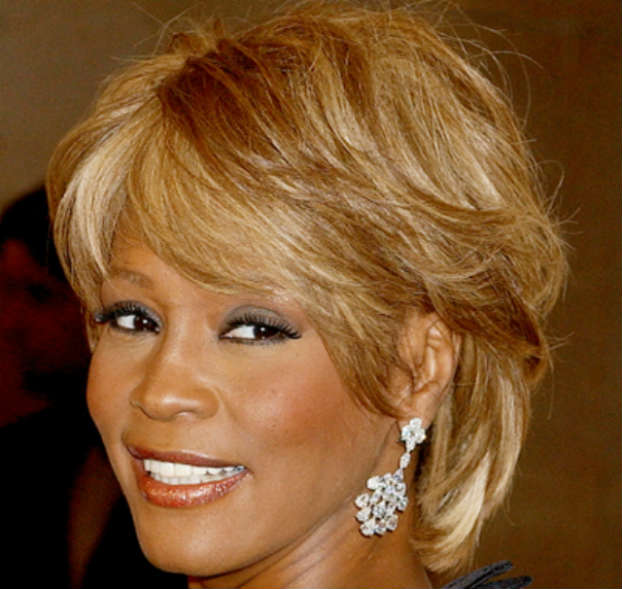 02092015_WhitneyHouston_Caramel_Blonde_Short_Bangs_Straight_Hair